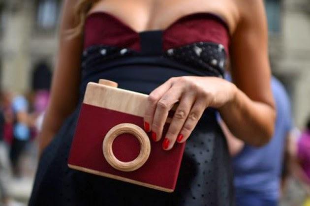 Mini carteras semana de la moda Milán