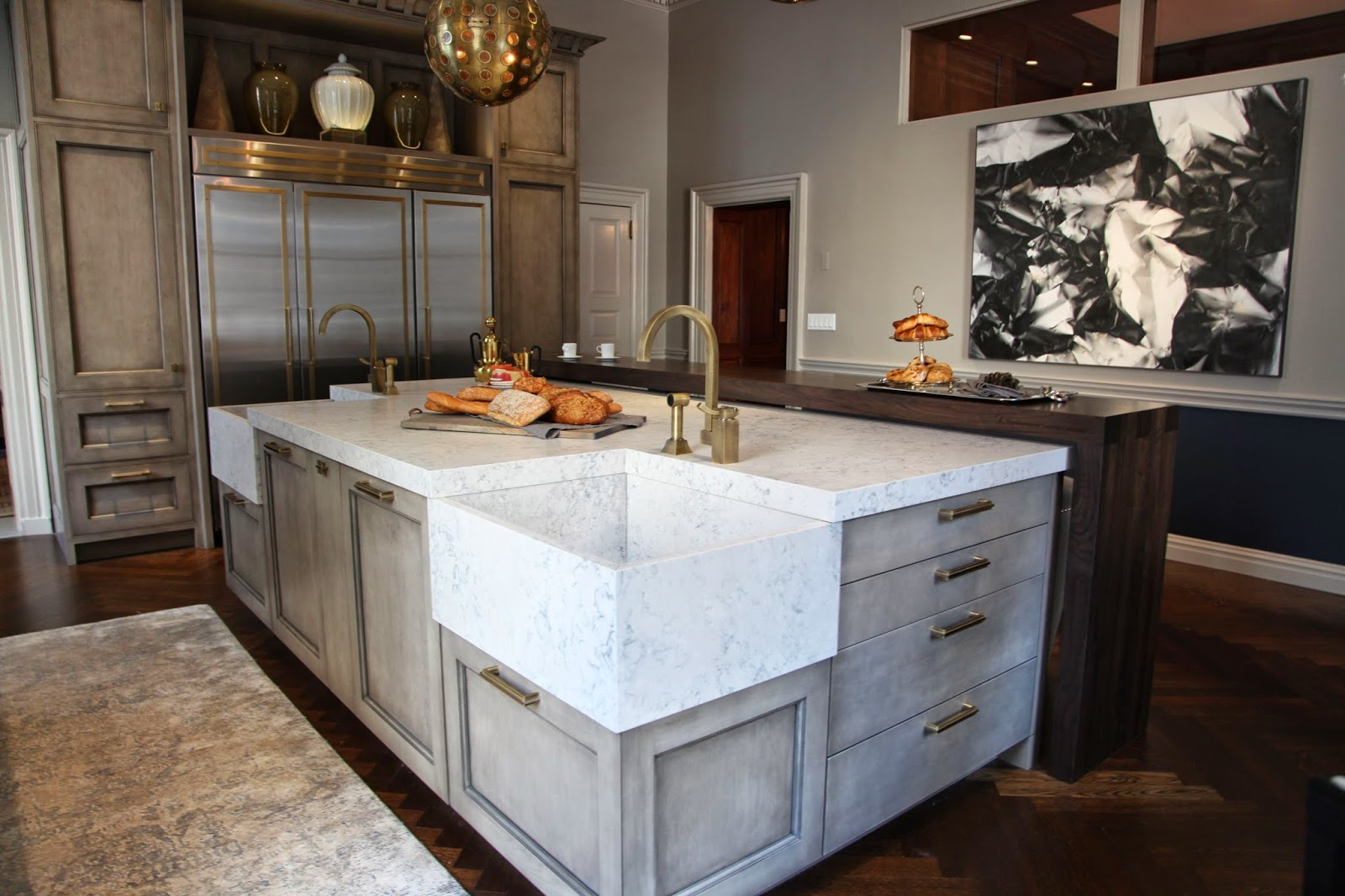 Jeff Lewis Kitchen Designs Kitchen Habitually Chic