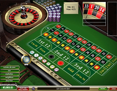 free american roulette game online