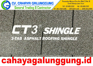 Atap Cti CT3 Tab Shingles Bitumen