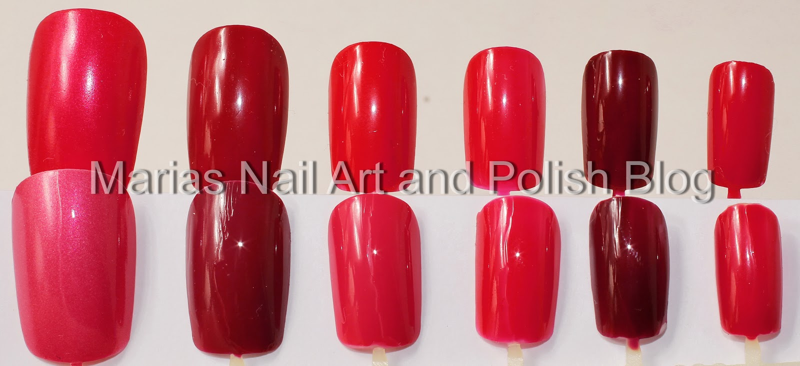 Marias Nail Art and Polish Blog: Fading nail polish - 18 months in a ...