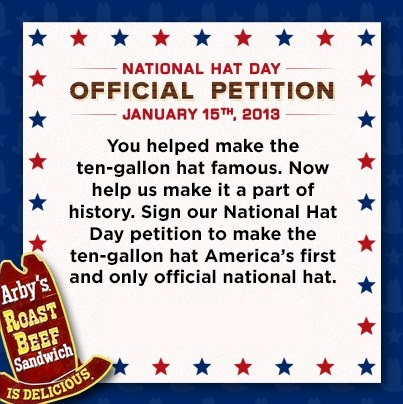 National Hat Day petition