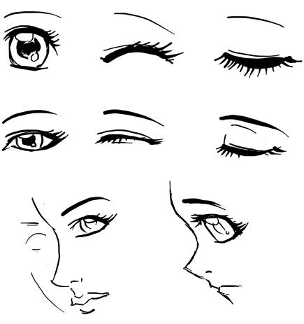 Apologise, but, Anime girl eyes you