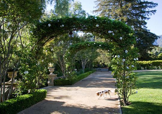 Un jard n rom ntico guia de jardin - Arcos de jardin ...