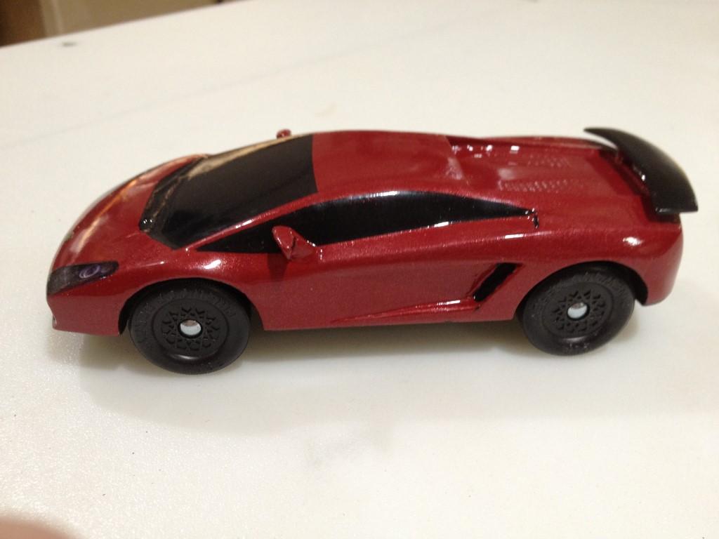 Lamborghini and cinderella39s pinewood derby cars for Lamborghini pinewood derby car