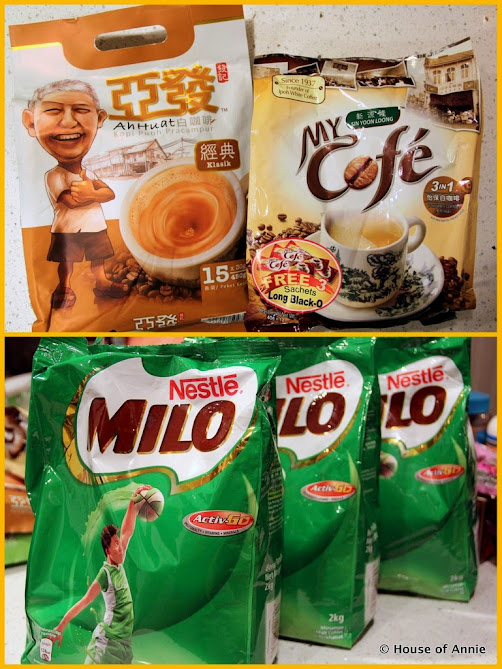 Coffee Sachets and Milo Powder
