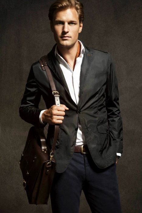 Massimo Dutti August 2012 Lookbook