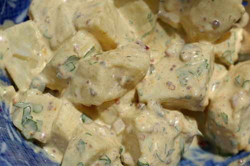 Curried Potato Salad Recipe | Healthy Potato Recipe | recipesbetter