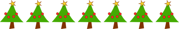 free digital christmas tree border pngChristmas Tree Border