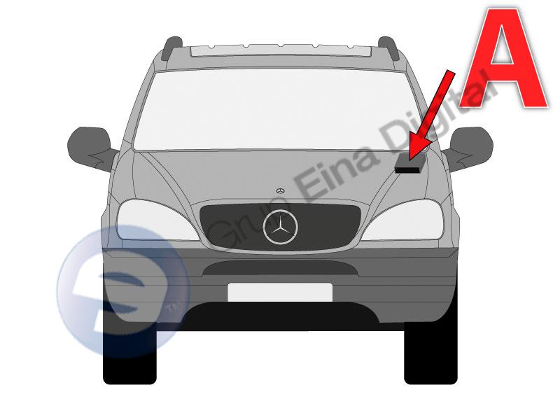Blog Mecánicos: Varios códigos de avería en un Mercedes Clase M