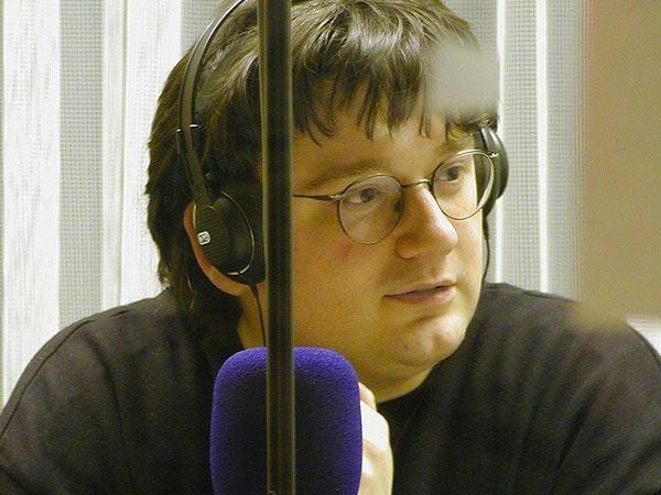 Christian Lukas im RuhrstadtStudio Witten