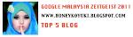 Google Malaysia Zeitgeist 2011