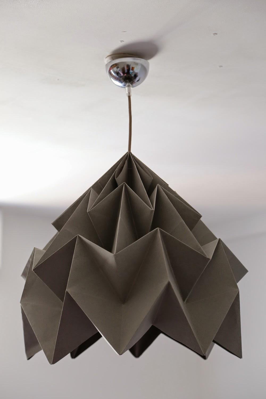 paris la r union lampe origami. Black Bedroom Furniture Sets. Home Design Ideas