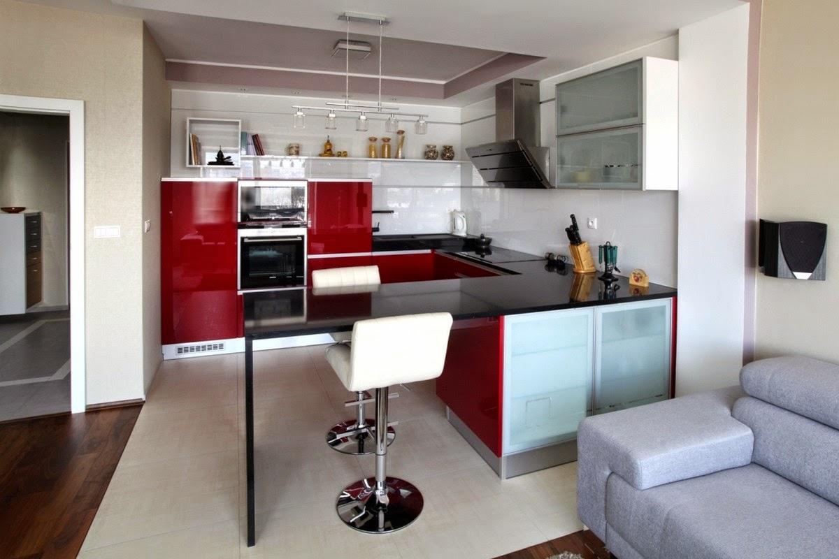 Arredamento Moderno Soggiorno Cucina BS92 ~ Pineglen