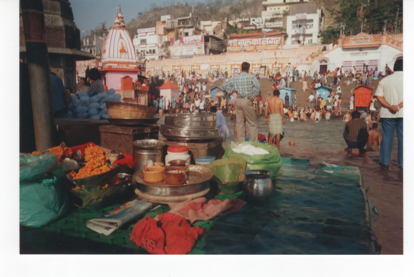 Ghat viaje a India Haridwar