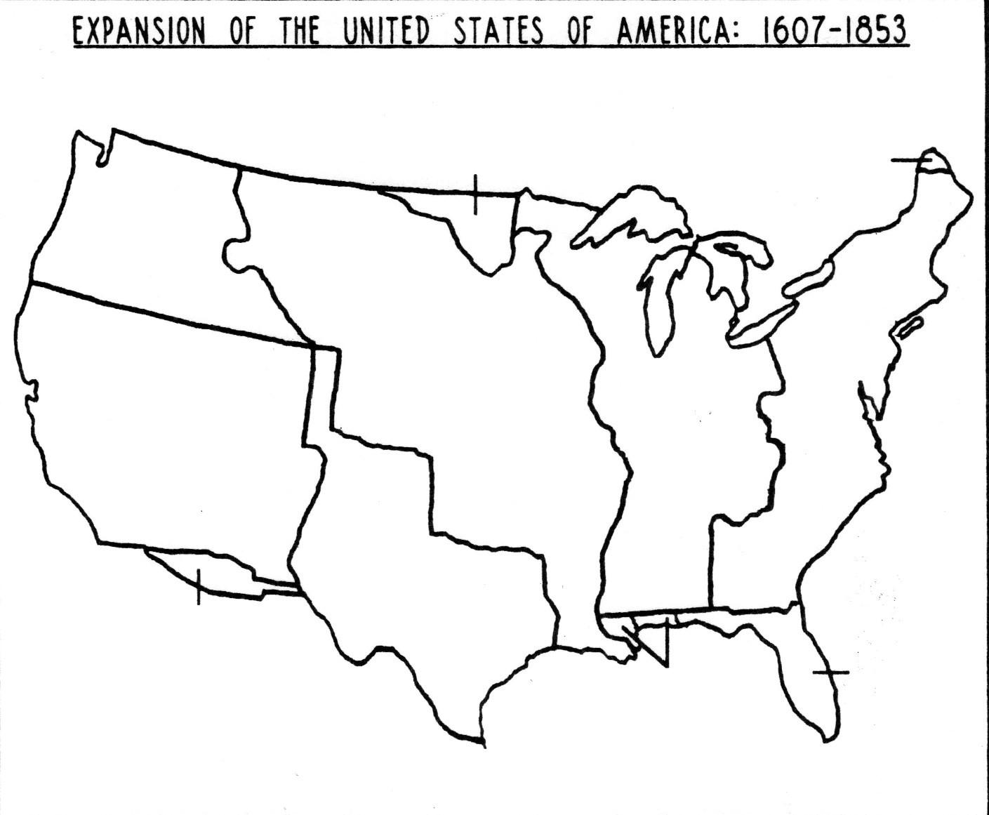 Blank US Map World Regional Printable Blank Maps Royalty Free Jpg - Printable us state map blank
