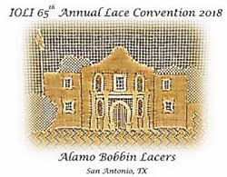 65th Annual IOLI Convention Co-hosted by Alamo Bobbin Lacers