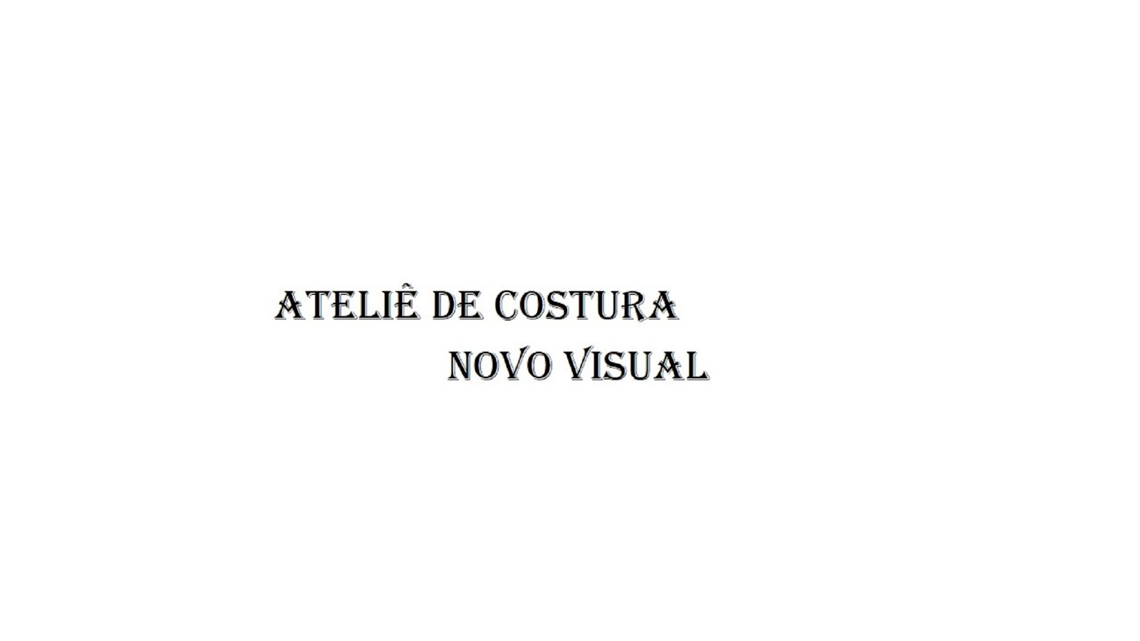 Blog   Ateliê  de Costura Novo Visual