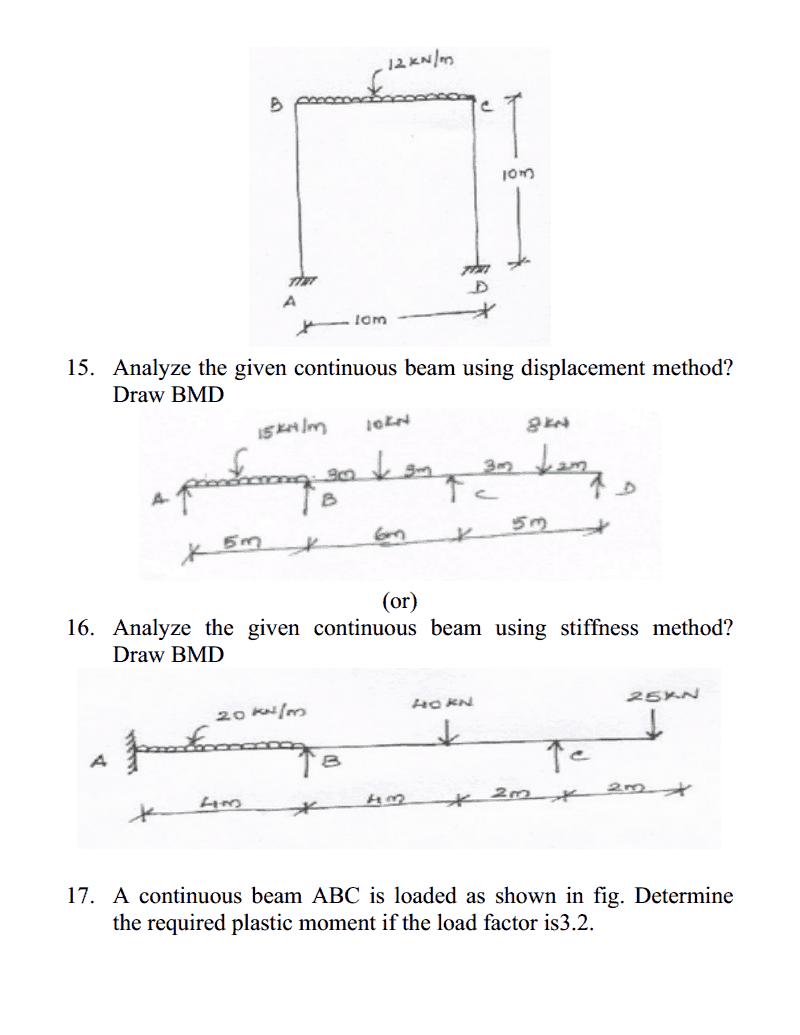 structural analysis civil engineering pdf