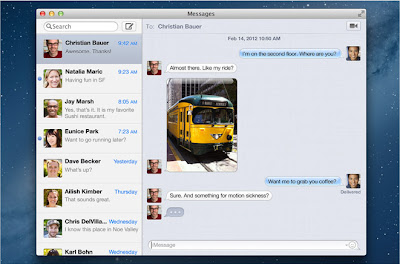 i-message in Mac