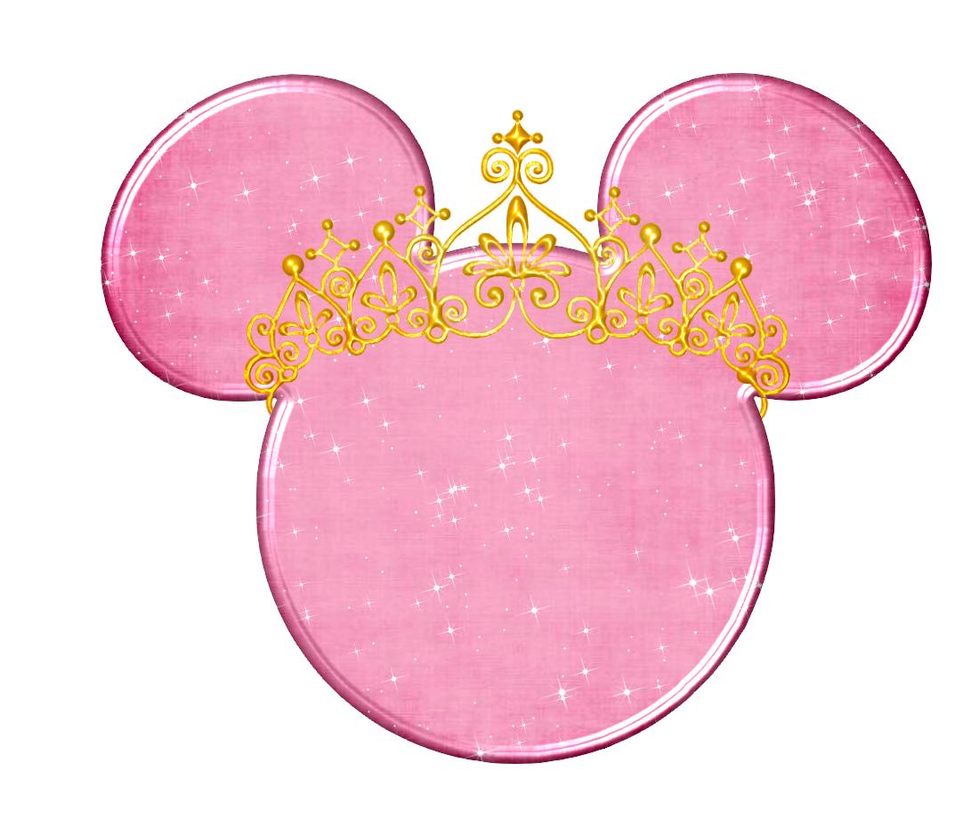 Cabeza minnie princesas para imprimir