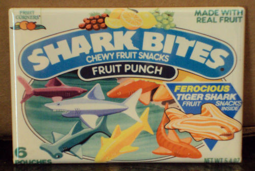 Shark Bites Fruit Snacks