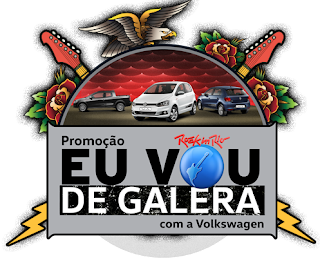 """Promoção  """"Eu Vou de Galera com a Volkswagen"""""""