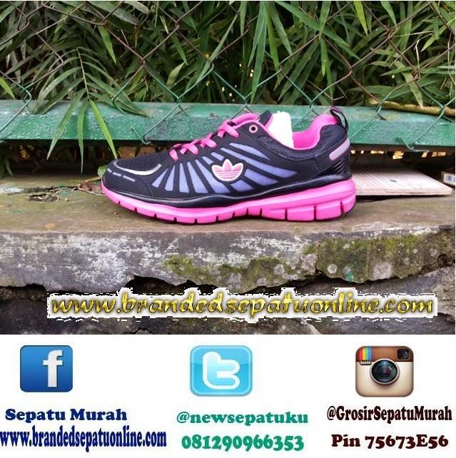 jual sepatu online, gambar sepatu adidas running women