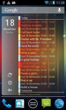Clean Calendar Widget Pro full download