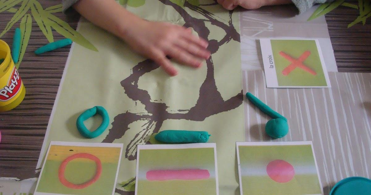 La maternelle la maison apprendre les formes en pate for Apprendre le yoga a la maison