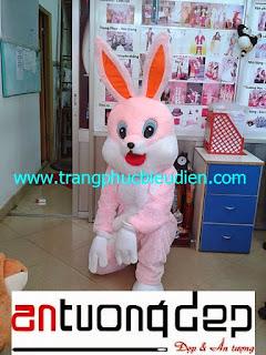 may mascot con thỏ