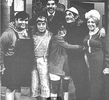Fotos Antigas do Seriado Chaves - Sbt
