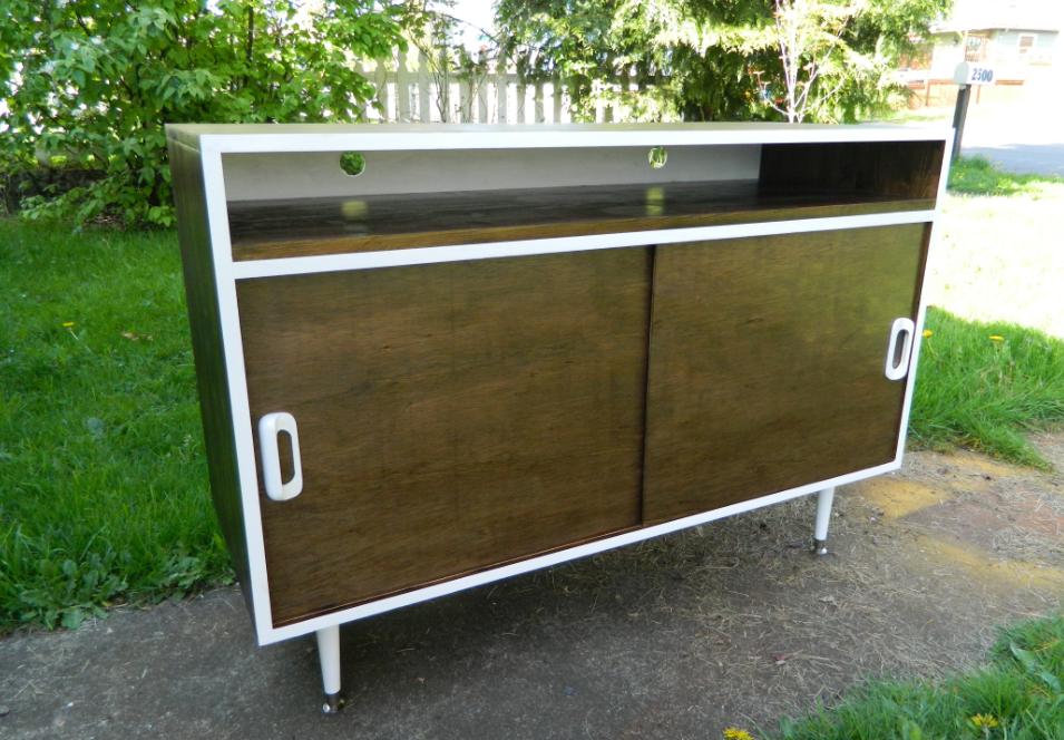 orwa designs mid century inspired furniture vintage home decor mid century inspired tv stand. Black Bedroom Furniture Sets. Home Design Ideas