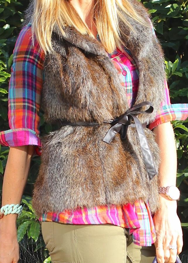 fall fur vest