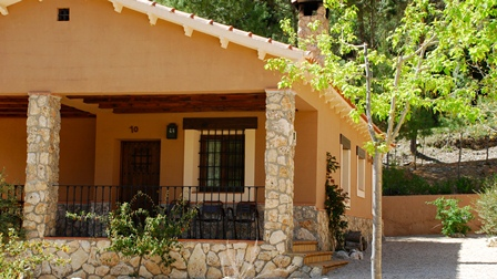 Casas rurales batan rio tus en yeste albacete primavera 2012 casas de piedra y rurales para - Casas rurales grandes ...