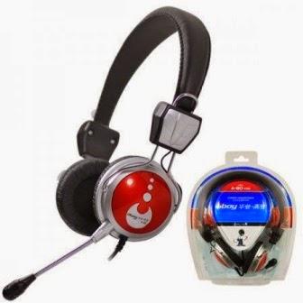 Rekam suara pake mic headset