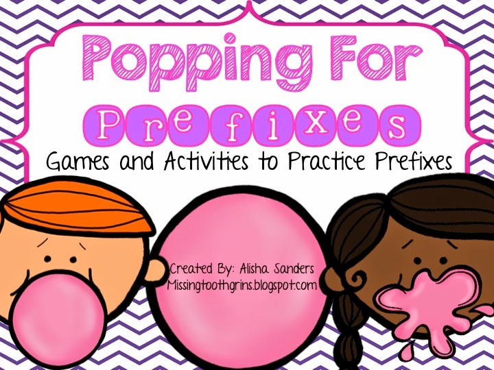 http://www.teacherspayteachers.com/Product/Prefixes-Activities-Pack-1137679