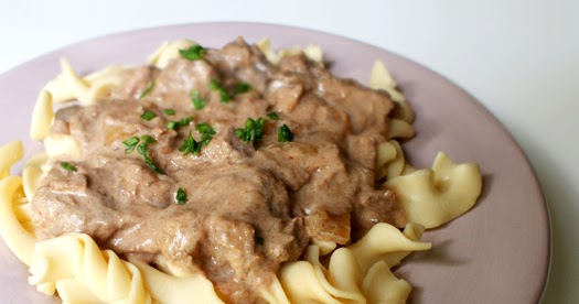 Slow Cooked Beef Stroganoff The Two Bite Club