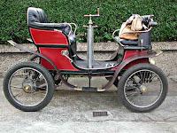 primer automóvil que llegó Colombia - De Dieon Bouton tipo D