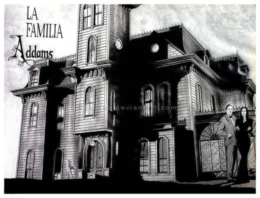 The Addams Family por Codinas