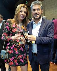 Momento com o Presidente da Importadora Ravin, Rogério Davila
