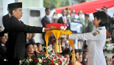 Profil Lengkap Maria Felicia Gunawan Pemegang Baki Bendera Pusaka