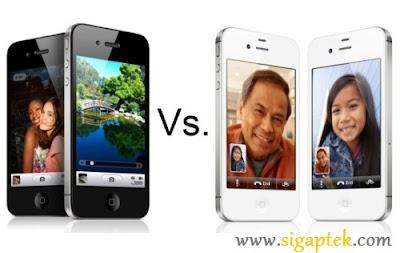 perbedaan iphone 4 dan iphone 4s, beda iphone 4 lama dengan yang terbaru, adu iphone 4 dan iphone 4s bagusan mana, perbandingan iphone spesifikasi dan harga gambar