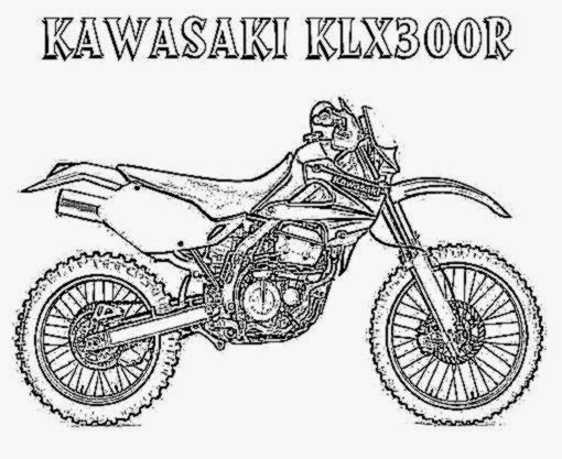 Dirt bike coloring pictures free coloring pictures for Coloring pages bikes