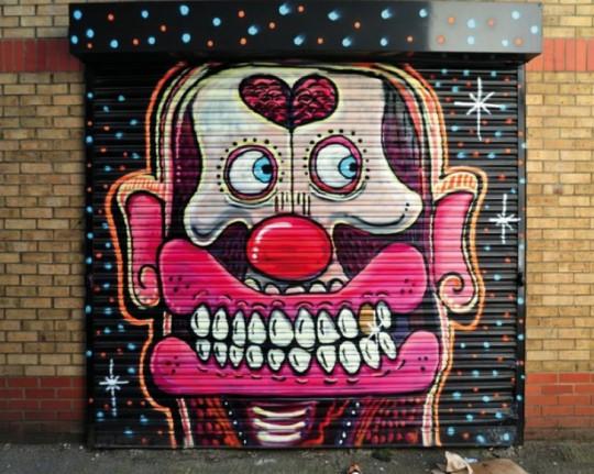 street art by artflymovie  sweet toof