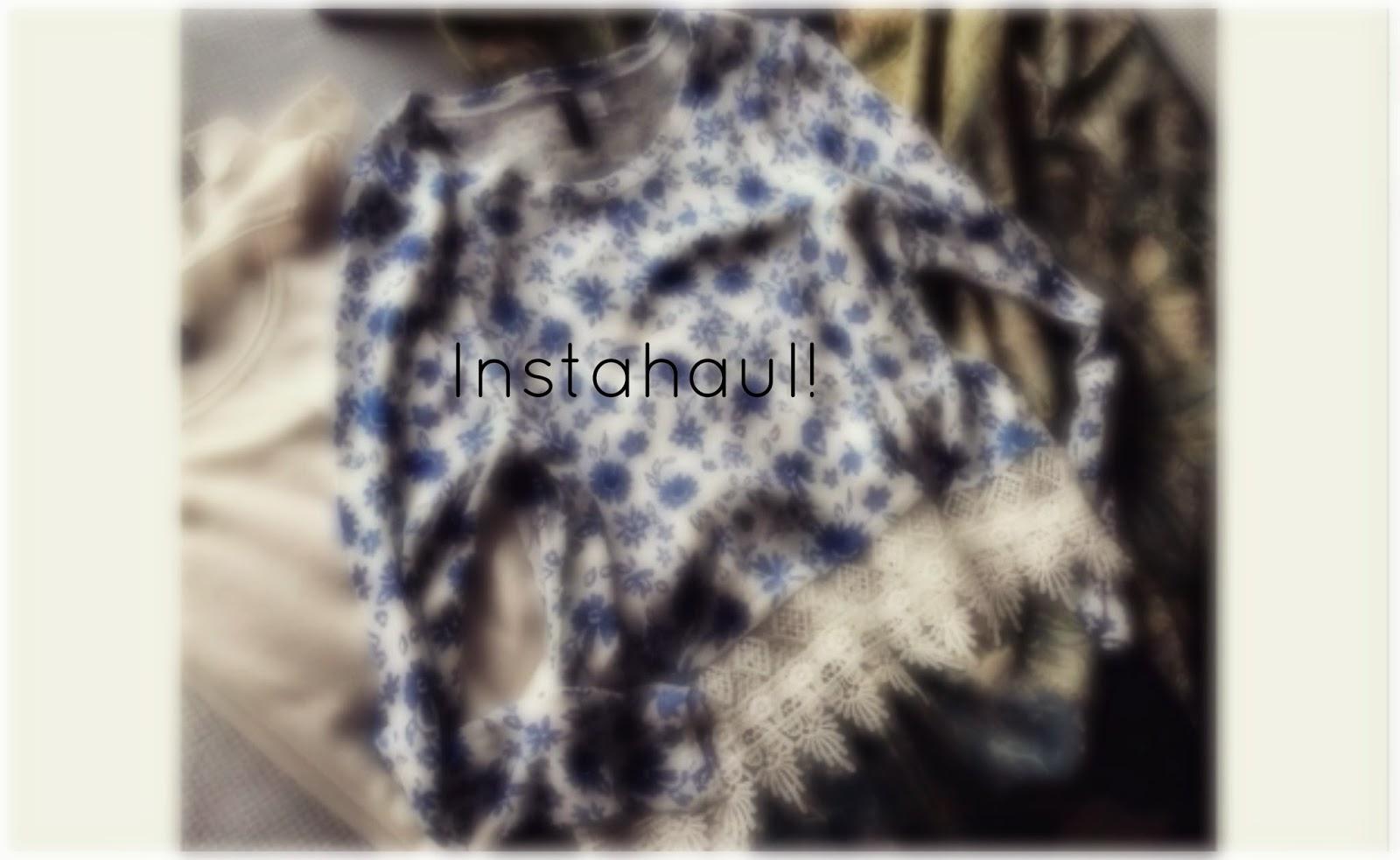 instahaul h&m clothing haul