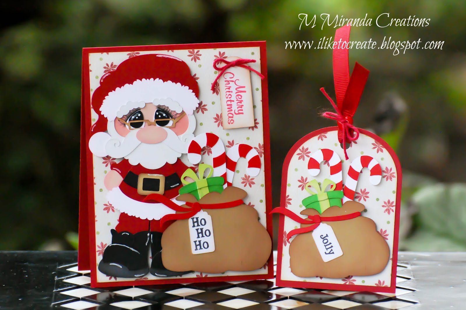 Santa Card and Tag Set