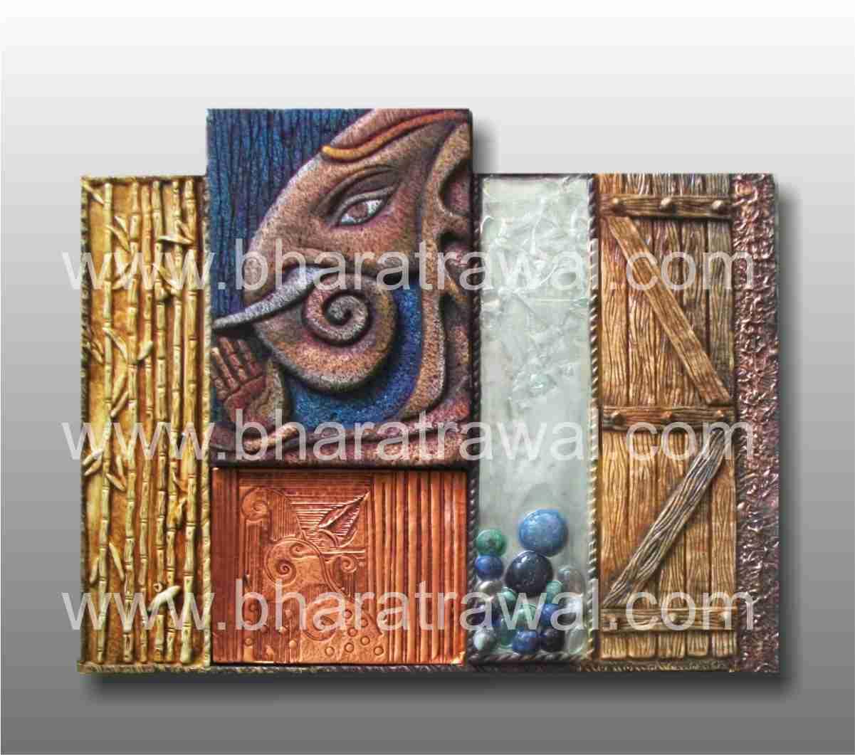Mural art by muralguru bharat rawal siporex ceramic glass for 3d ceramic mural art
