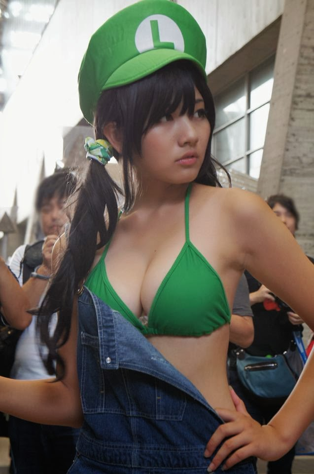 sexy mario girls cosplayer