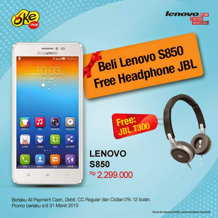 Lenovo S850 Bonus Headphone JBL T300